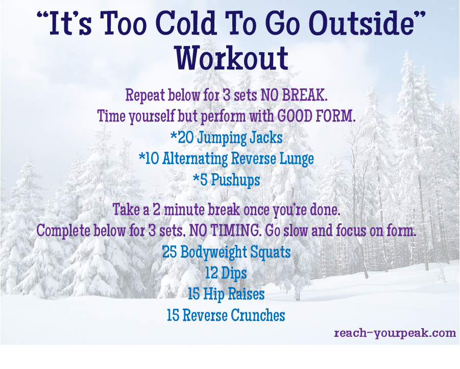 coldworkout