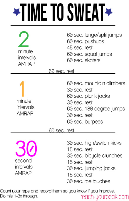 cardio workout Archives - Reach Your Peak
