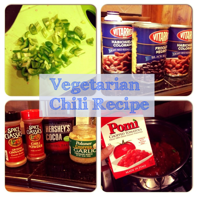 vegetarian chili recipe