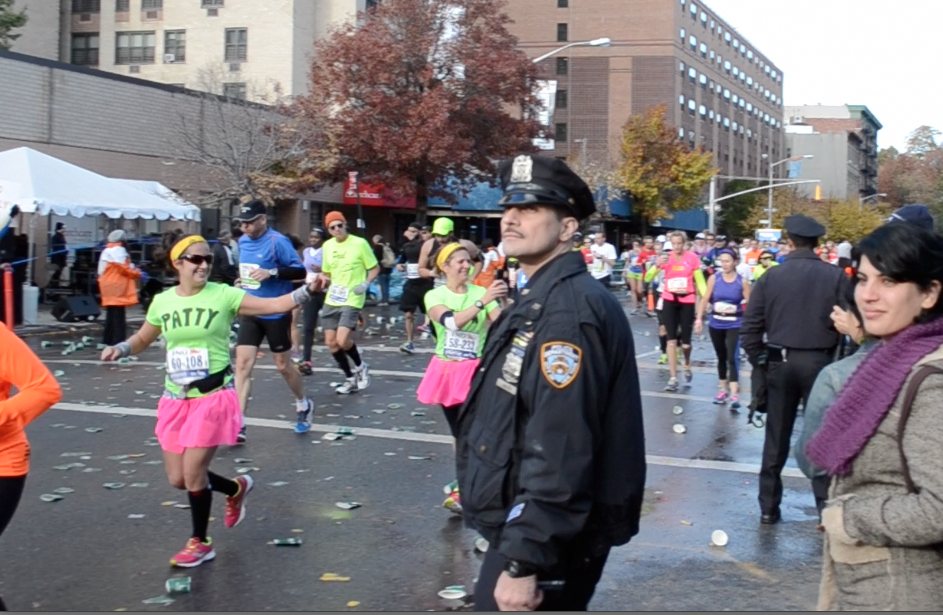 nyc marathon mile 22