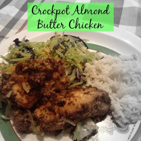 crockpot almond butter chicken