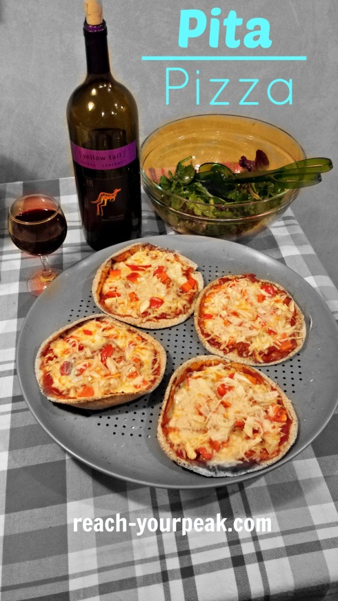 pita pizza recipe