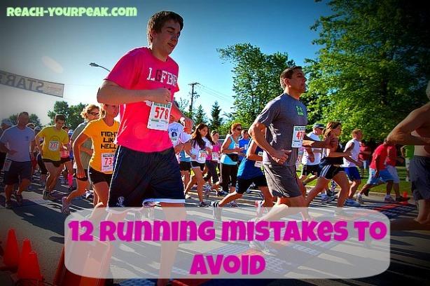 running mistakes
