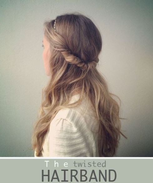 twisted hair band